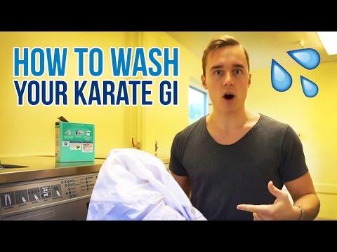 HOW TO WASH YOUR KARATE GI | Karate Uniform Washing — Jesse Enkamp