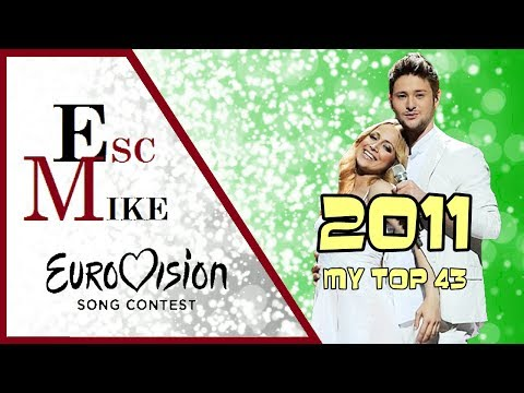 Eurovision 2011 - My Top 43 [With Rating]