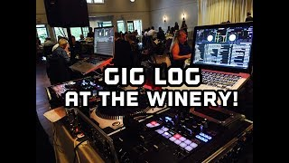 Gig log. Wedding at Columbia Winery. Also first look at a new Pro X case....