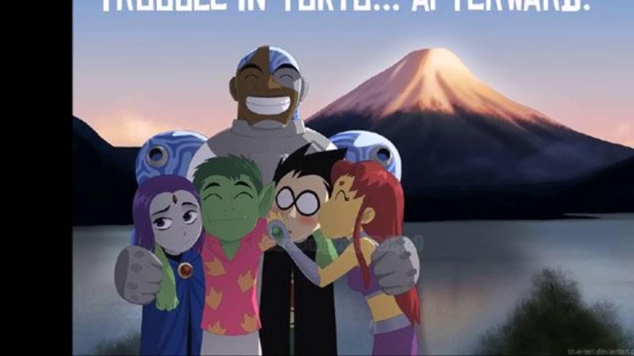 In teen titan tokyo trouble