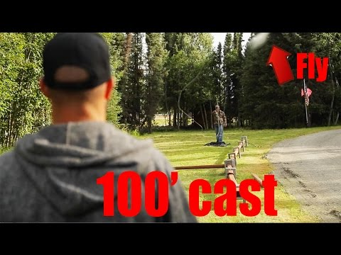 How To Cast 100 Foot Fly Fishing Streem Moby