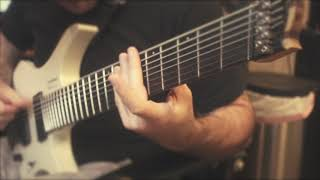 strandberg metal 8 thumping over drum - bass