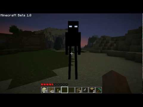 Minecraft 1.8 Enderman Fanmade