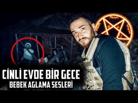 CİNLERİN SAHİPLENDİĞİ KÖŞKTE BİR GECE! - BEBEK AĞLAMA SESLERİ