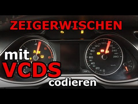 audi a4 8k b8 vcds zeigertest codieren. Black Bedroom Furniture Sets. Home Design Ideas