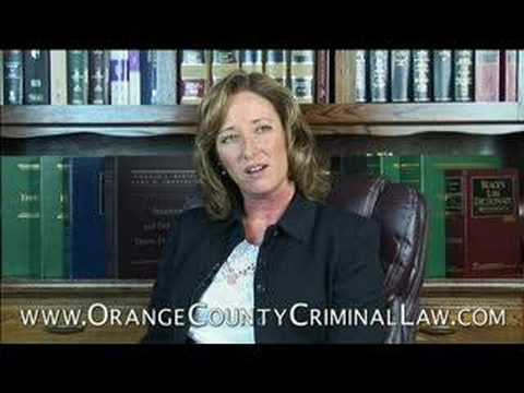 Orange County Criminal Defense Attorney Courtroom ...