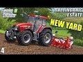 NEW YARD AND TRACTOR | Ballincraig Estate - Episode 4