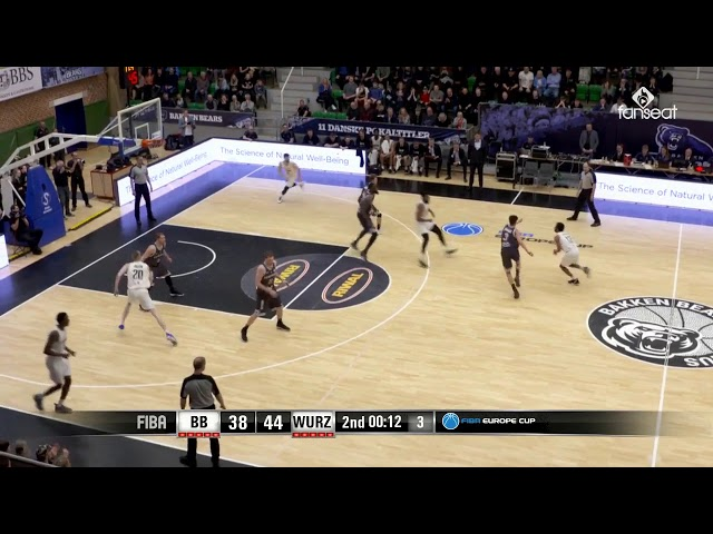 Highlights fra Bakken Bears vs. s.Oliver Würzburg