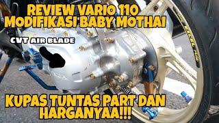 Modifikasi Vario 110 Thailook | Modifikasi Vario Baby Mothai