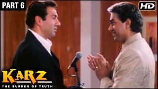 Karz Hindi Movie | Part 6 | Sunny Deol, Sunil Shetty, Shilpa Shetty, Ashutosh Rana | Action Movies