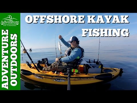 Hobie Outback Kayak Fishing Offshore At A NC Artificial Reef