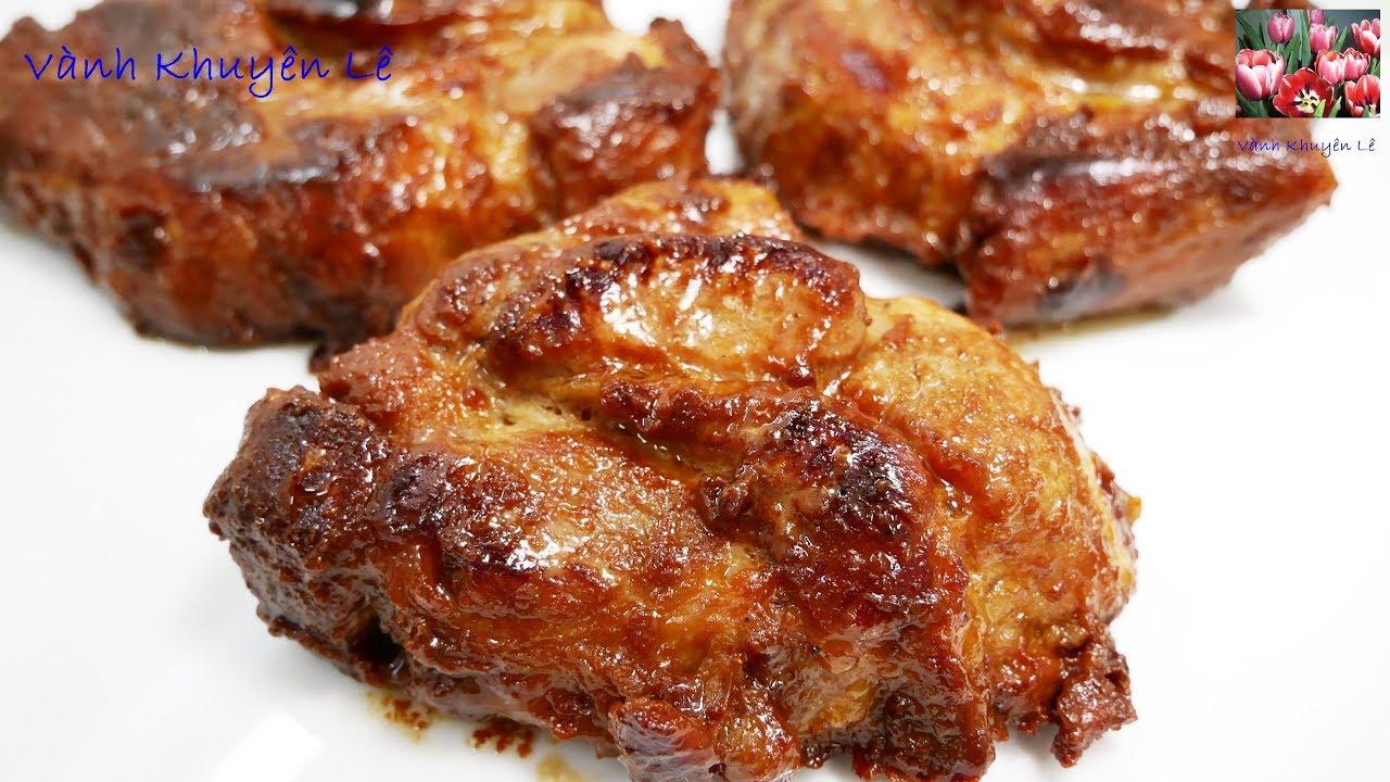 THỊT KHÌA / THỊT RAM – Cách làm món Thịt Heo khìa thơm ngon đậm vị mềm ngọt Thịt by Vanh Khuyen