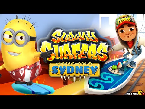 Despicable Me 2 Minion Rush Subway Surfers New Update Sydney