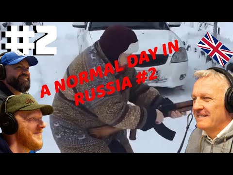 A Normal Day In Russia #2 REACTION!! | OFFICE BLOKES REACT!!