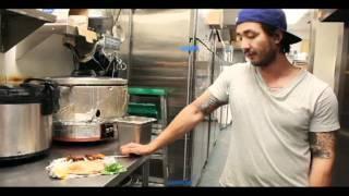 Behind The Scenes @balancegrille: Tandoori Chicken Kati Roll (seasonal Special Fall 2011)