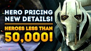 New Heroes OFFICIALLY Less Than 50,000 Credits! Boba Fett Fix! - Star Wars Battlefront 2