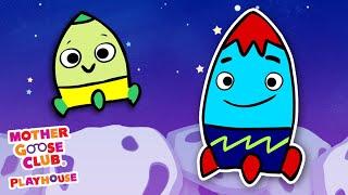 Rocket Finger Family + More | Mother Goose Club Nursery Rhyme Cartoons