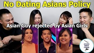 Asian Man Rejected by Asian Girls   NO DATING ASIANS POLICY explained  澳版非誠勿擾-亞裔女拒絕約會亞洲男