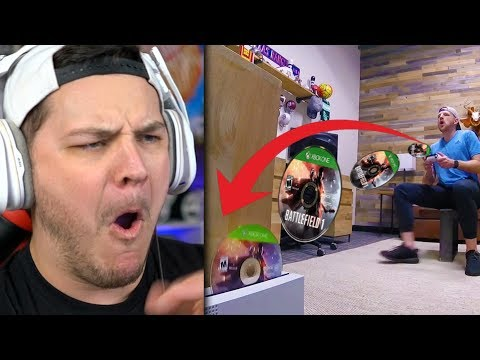 Real Life Trick Shots 2 | Dude Perfect - Reaction