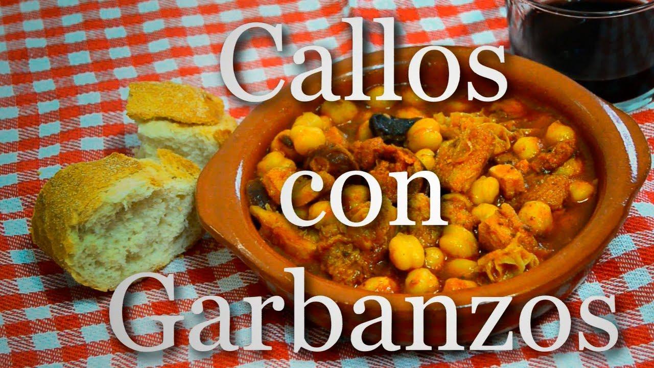 Callos con garbanzos olla express receta f cil youtube - Cocinar con olla express ...