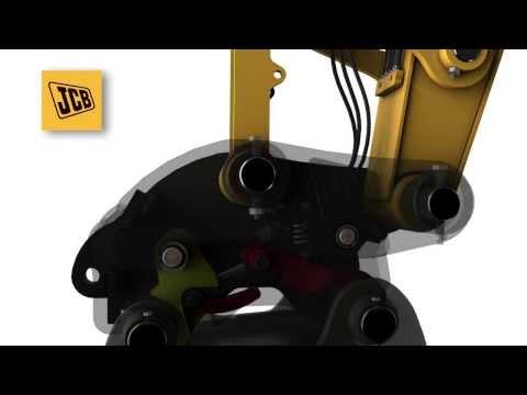 JCB Surelock Quickhitch - Attaching Excavator Buckets Safely