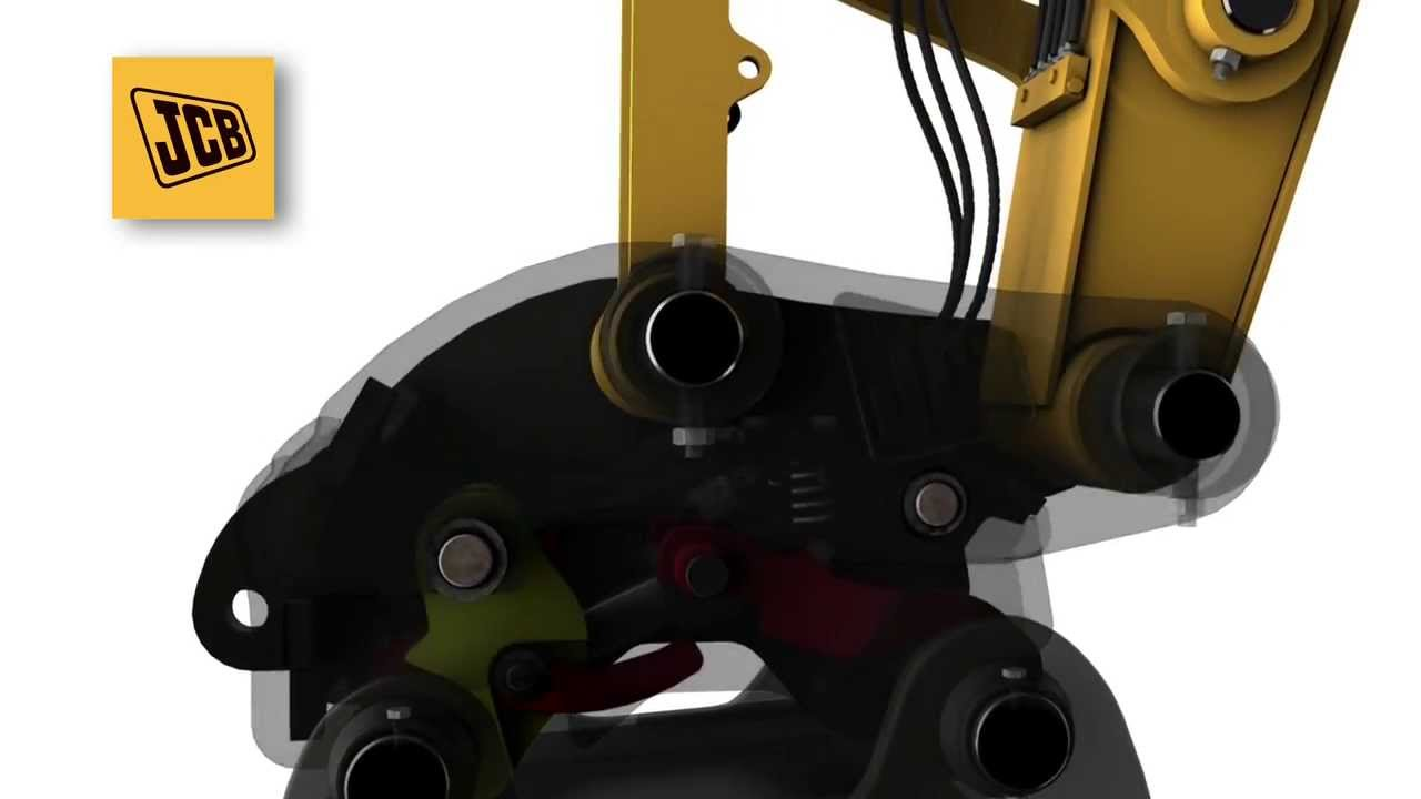 Jcb Surelock Quickhitch Attaching Excavator Buckets Safely Youtube 520 Wiring Diagram