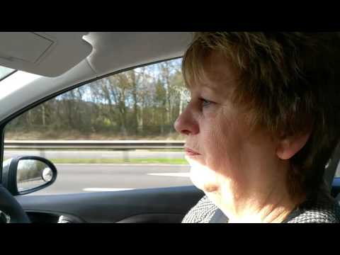 Geraldine driving on motorway for first time in 25 years