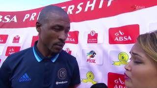 mamelodi sundowns 6 0 orlando pirates benson mhlongo apologises