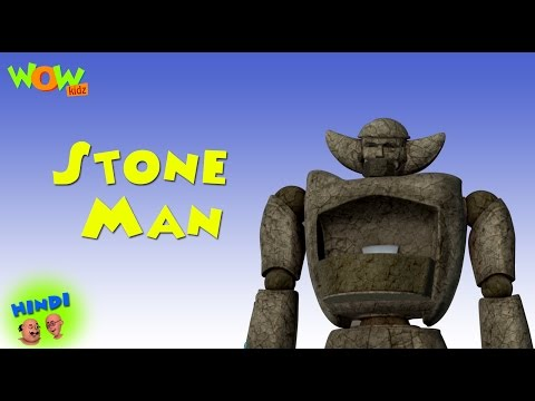 Stone Man - Motu Patlu in Hindi WITH ENGLISH, SPANISH & FRENCH SUBTITLES thumbnail