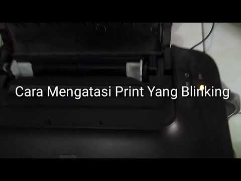 Cara Mengatasi Blink Kuning Printer Canon 2770.
