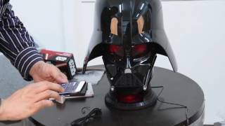 CAMINO Darth Vader 1:1 Bluetooth Speakers Open Box Demo 720