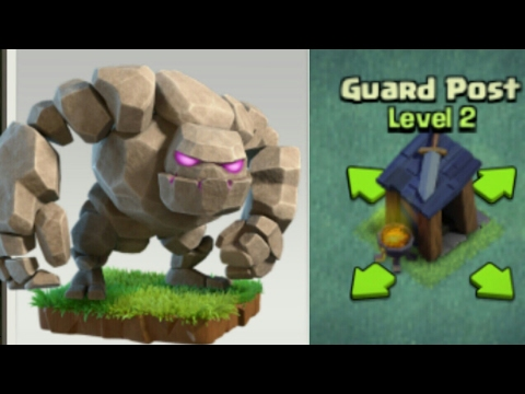 Golem Up To Level 3| Guard Post To Level Two!!