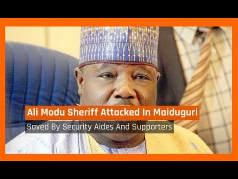 Nigeria News Today: Bornu: Ali Modu Sheriff Attacked In Maiduguri (12/12/2017)