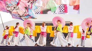 [4K] ゆうかり~ず一番組 ゑぇじゃないか祭り 2018 本祭 メイン会場 (中央)
