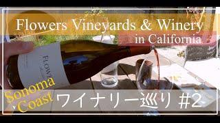 [バーチャルワイナリー巡り②] 高品質ワインで知られるフラワーズビンヤード訪問!ソノマの有名ワイナリーを巡る / Virtual Tour @ Flowers Vineyards