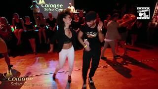 Eddie Torres Jr & Veronica Lopez - social dancing @ Cologne Sa…