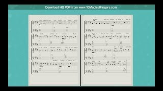 Mere Naam Tu (Zero) Western Piano Staff Notations + Chords