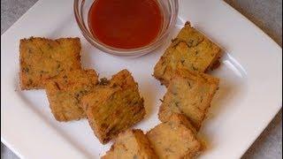Kothimbir Vadi - Maharastrian snack - By Vahchef @ Vahrehvah.com