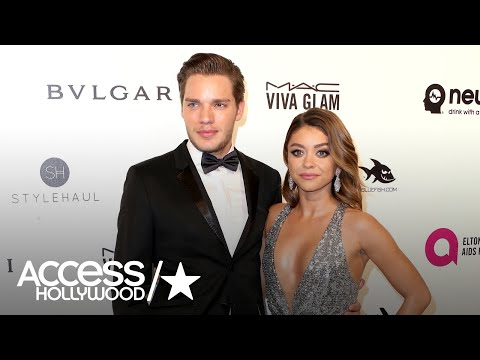Sarah Hyland & Dominic Sherwood Split | Access Hollywood