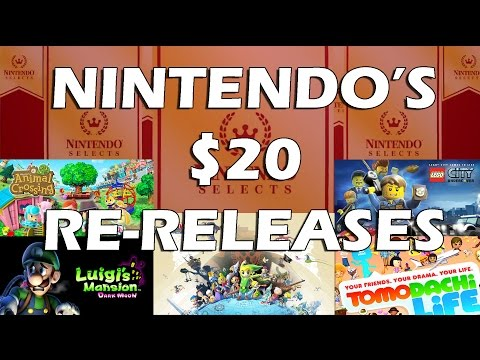 Nintendo is Re-releasing Expensive Games for Only $20! New Nintendo Selects Incoming!!