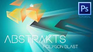 "Abstrakts ""Polygon Blast"" Photoshop Tutorial"