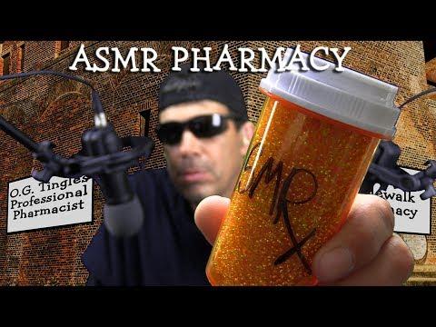 ASMR Pharmacy for Lost Tingles, Relax, Sleep