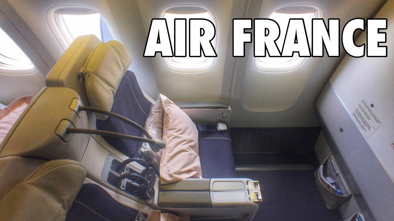 Air France Delta Premium Economy from Peopleforcarlandrews