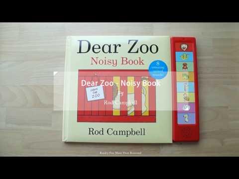 【小QQ繪本說書時間】Dear Zoo Noisy Book