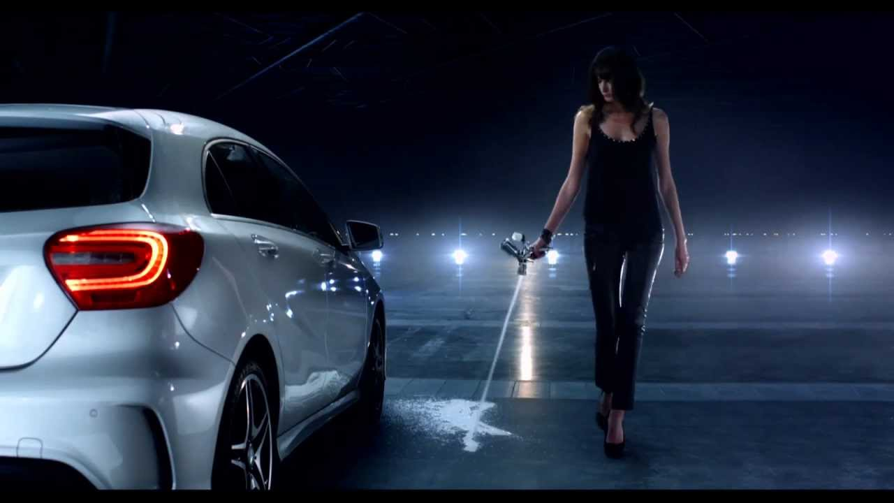 mercedes benz a class tv commercial parking youtube