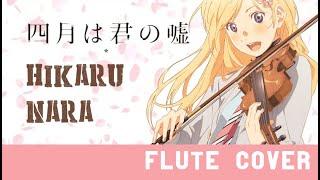 Video Hikaru Nara- Your Lie in April OP1 [Kiwi Flute] download MP3, 3GP, MP4, WEBM, AVI, FLV Agustus 2018