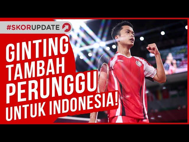 Anthony Sinisuka Ginting Tambah Medali Perunggu untuk Indonesia
