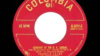 1957 Frankie Laine - Gunfight At The O.K. Corral