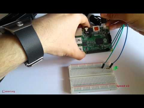 JavaScript for IoT: Blinking LED on Raspberry Pi with Node.js