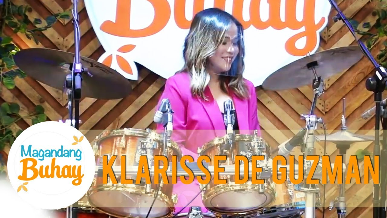 Klarisse shows her talent in playing drums | Magandang Buhay